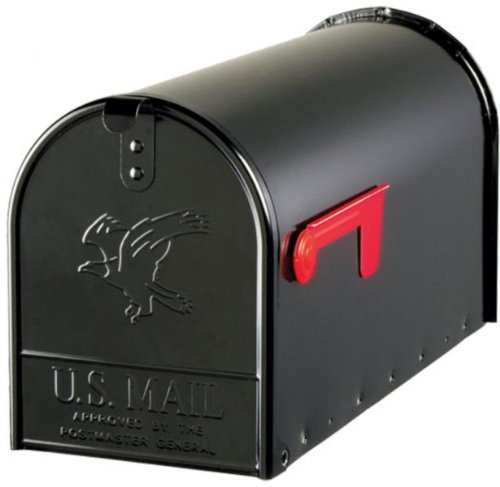 US Mailbox aus Stahl in schwarz thumbnail