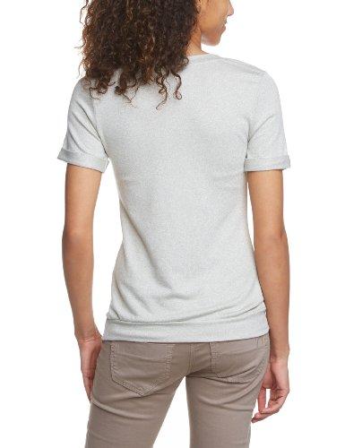 VERO MODA Damen T-Shirt 10090389 SUS SS SWEAT TOP, Rundhals Beige (Oatmeal)