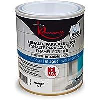 Esmalte para azulejos al agua kolman (750 ml., colores claros)