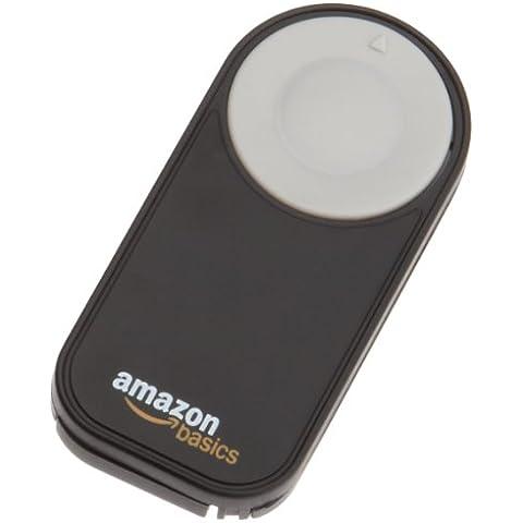 AmazonBasics - Disparador inalámbrico para cámara réflex digital, (5 metros), negro