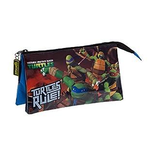 41d48vACtLL. SS324  - Tortugas Ninja Neceser de Viaje, 1.32 litros, Color Azul