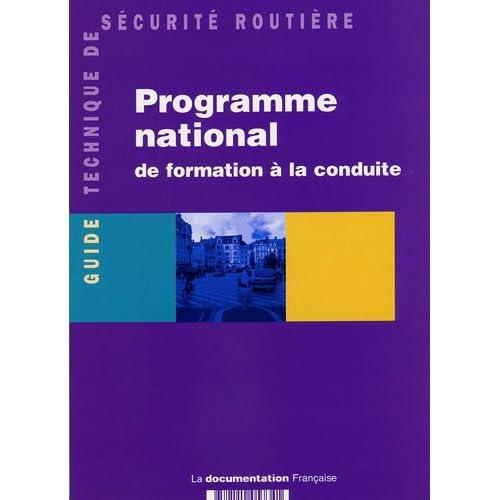 Programme national de formation à la conduite