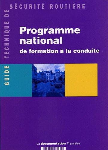 Programme national de formation  la conduite