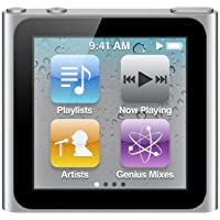 Apple iPod nano MP3-Player 8 GB (6. Generation, Multi-touch Display) silber