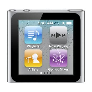 Apple iPod nano MP3-Player 8 GB (6. Generation, Multi