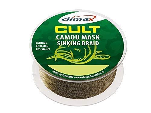 Climax Cult CARP Camou MASK 500m 0,24mm 20lb 9,1kg Sink.Braid SB geflochtene sinkende Hauptschnur Karpfenschnur Mainline
