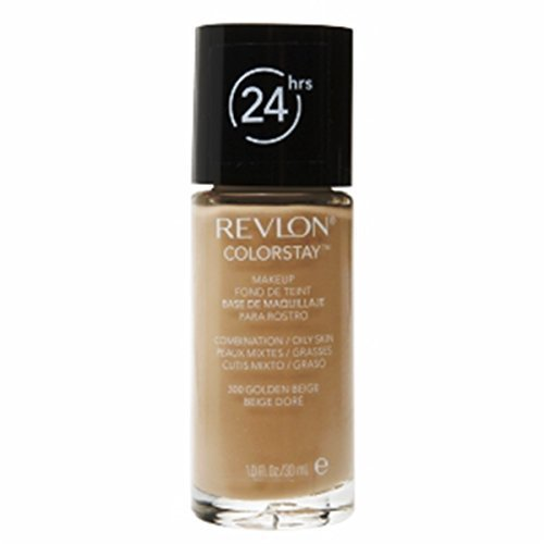 Revlon ColorStay Makeup Foundation for Combination/Oily Skin - 30 ml, 300 GOLDEN BEIGE