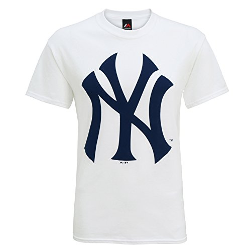American Sports Merch New York Yankees Logo T Shirt - Navy, Grey or White Navy