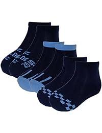maximo 3er Pack Sneaker Socken, Protège-Bas et Socquettes Garçon, (lot de 3)