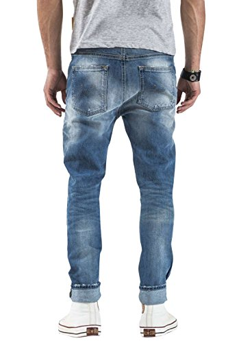 Meltin'pot D2049-UP420 Jeans Man Blue