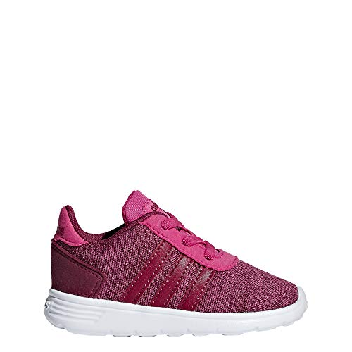 adidas Unisex Baby Lite Racer INF Hausschuhe, Mehrfarbig (Magrea/Rubmis/Ftwbla 000), 19 EU