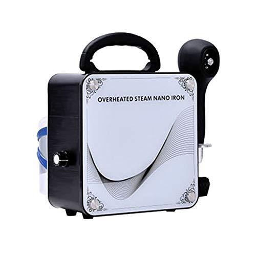 Tragbare Friseur Nano-Pflege Sprayer Haar feuchtigkeitsspendende Haarpflege Mikro-Nebel-Zerstäuber Licht Nano-Spritzpistole Haarpflege Friseurbedarf professionelle Friseurwerkzeuge