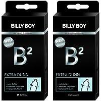 Billy Boy B² Extra Dünn 30 Kondome (Doppelpack 2x 15 Stück) preisvergleich bei billige-tabletten.eu