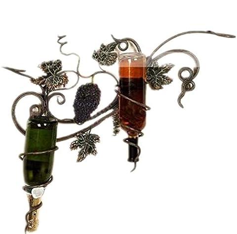 YANFEI Casier à vin Home Fer à repasser à vin American Pastoral Vignes murales contient des bouteilles de votre vin préféré Étagères créatives