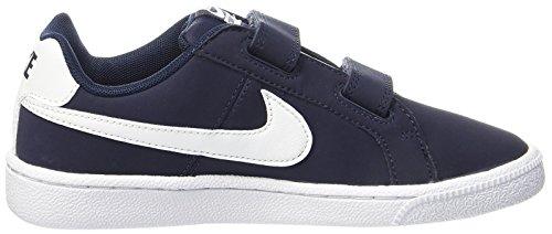 Nike Court Royale (Psv), Chaussures de Tennis Garçon Bleu (Obsidian/white)