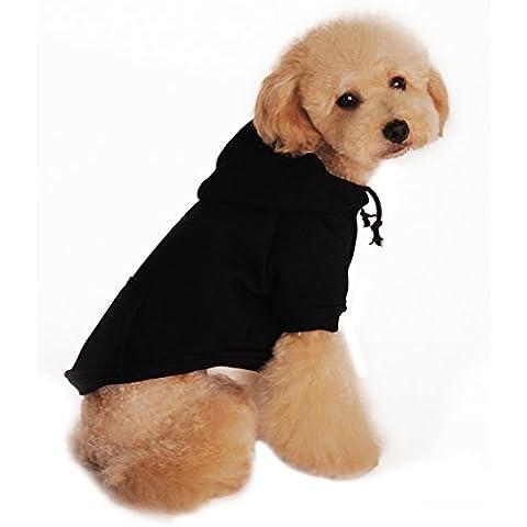 Demarkt Ropa /Chaqueta para Perros Color Negro Talla L