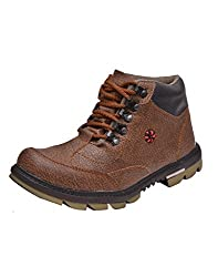 Prolific Men Synthetic X-Power Sole Boot Brown