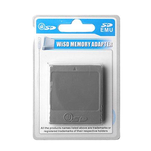 GROOMY Adattatore per convertitore di schede di Memoria Flash Memory Card per Console Nintendo Wii NGC