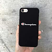 Utopiashi Champion Pattern Letter Hard Plastic Phone Case For iphone X 6 7 8 plu