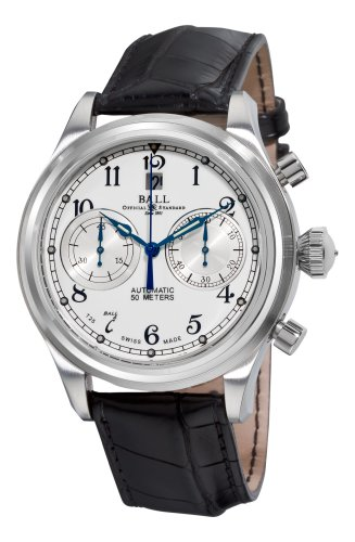 Montre Automatique Ball Trainmaster Cannonball, Ball RR1401, Chronographe