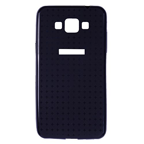 iCandy™ thin Soft TPU Back Cover for Samsung Galaxy Grand Max 7202 - Black