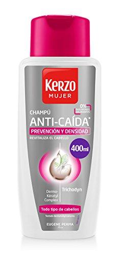 Kerzo Anti Caida Mujer Shampoo, 400 ml
