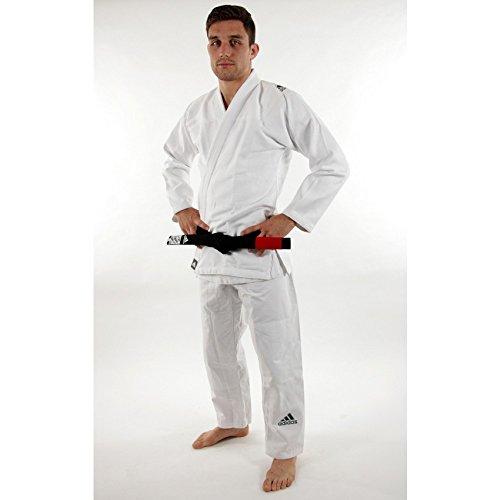adidas Challenge 2.0 BJJ / Brazilian Jiu Jitsu / Gi / Kimono Anzug FARBAUSWAHL / GRÖßENAUSWAHL(Weiss, A2,5 (165cm-185cm)) (Bjj Gi Frauen)