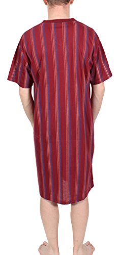 L XL XXL XXXL 100/% Cotone manica corta Camicia da notte mr