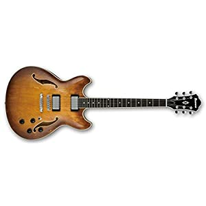 Ibanez AS73-TBC Acoustic-electric guitar Semi-hollow 6strings Brown,Wood guitar - guitars (6 strings, 62.8 cm, 400 mm, 489 mm, 6.6 cm)