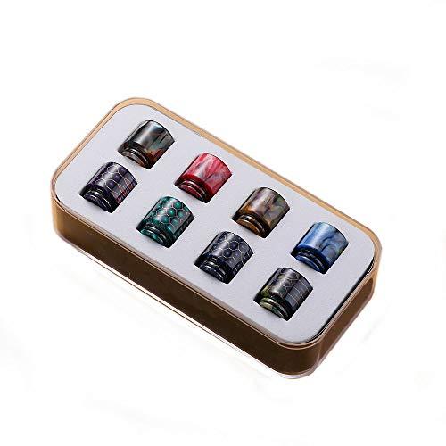 Drip Tip Box 810 DripTips Mundstück Verdampfer Coils Vape O-Ring -