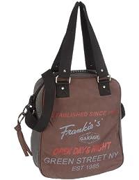 Frankie's Garage Soho Lady's Bag darkbrown T210052B-020, Sac à main femme
