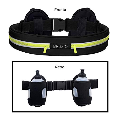 Marsupio Uomo Donna NEW EDITION Cintura Running Borraccia Removibile Porta Cellulare Impermeabile Portafoglio Accessori Cintura Viaggio Palestra