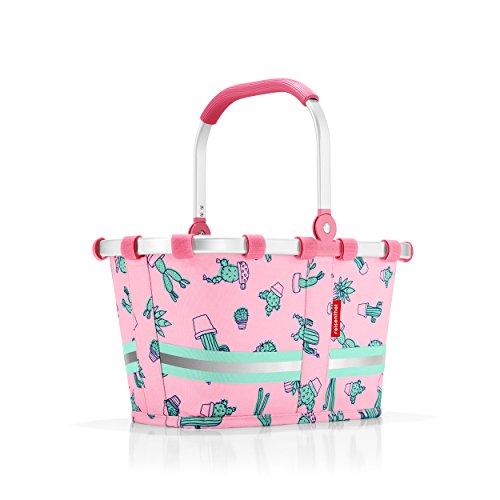 Reisenthel IA3055 Carrybag XS Kids klappbarer Kinder-Einkaufskorb 5 L, Polyester, rosa, 19,5 x 33,5 x 18 cm