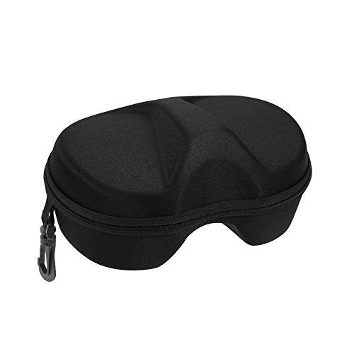 Boîte de Rangement Case de Protection Shell Ovale Ronde Portable en EVA pour Masque Lunettes de Plongée / Natation