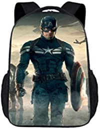 Preisvergleich für XIAOMIN Captain America Rucksack-30 * 15 * 43cm,A-30 * 15 * 43cm