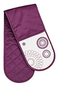 Premier Housewares Lilla Double Oven Glove - Purple