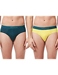 Fruit of the Loom Men's Solid Cotton Brief (Pack of 2)