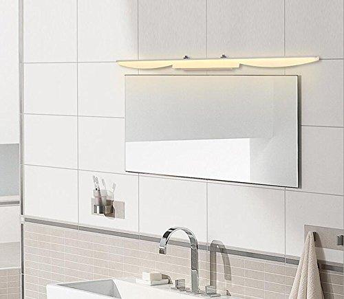 Simple Moderno LED Espejo Frente lámpara baño Pared