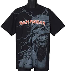 T-Shirt Iron Maiden Giant Mummy Head L (T-Shirt taille Large)