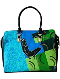Casual Shoulder Bag Women & Girl's Handbag Hand Painted Handbag Cum Sling Bag