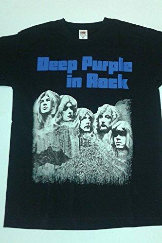 DEEP PURPLE IN ROCK T.SHIRT UNISEX TG. M