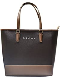 Cross Women's Tote Bag (Toupe/Brown,Ac131079-2)
