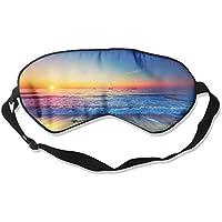 Comfortable Sleep Eyes Masks Sea Beach Sunset Pattern Sleeping Mask For Travelling, Night Noon Nap, Mediation... preisvergleich bei billige-tabletten.eu