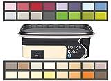 Design Color 2,5 L. farbige Innenfarbe, Wandfarbe Limonade, Lemoniada, Gelb, Matt