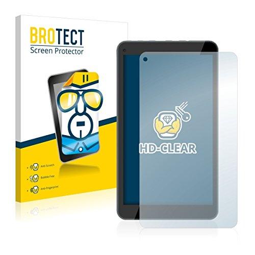 2X BROTECT HD Clear Bildschirmschutz Schutzfolie für Odys Mira (kristallklar, extrem Kratzfest, schmutzabweisend)