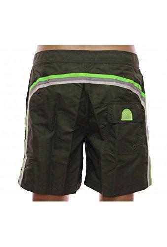 SUNDEK M534DTA100 Bañador, Verde Dark Ar.Green, X-Small para Hombre