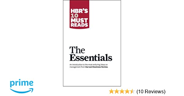 Buy HBR's 10 Must Reads: The Essentials (Harvard Business