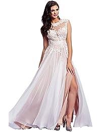 0209e3388f86 Secret Castle Pizzo Lungo Abito da Sera Chiffon Party Dress Vestito U212