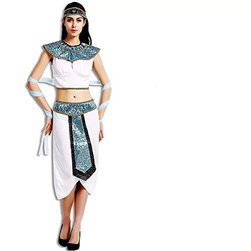thematys Cleopatra Aphrodite Göttin Kostüm-Set für Damen - perfekt für Fasching, Karneval & Cosplay - Einheitsgröße 160-180cm