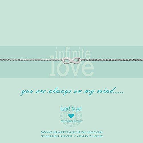 Heart to get Damenarmband 925/ Silber B87INF12S